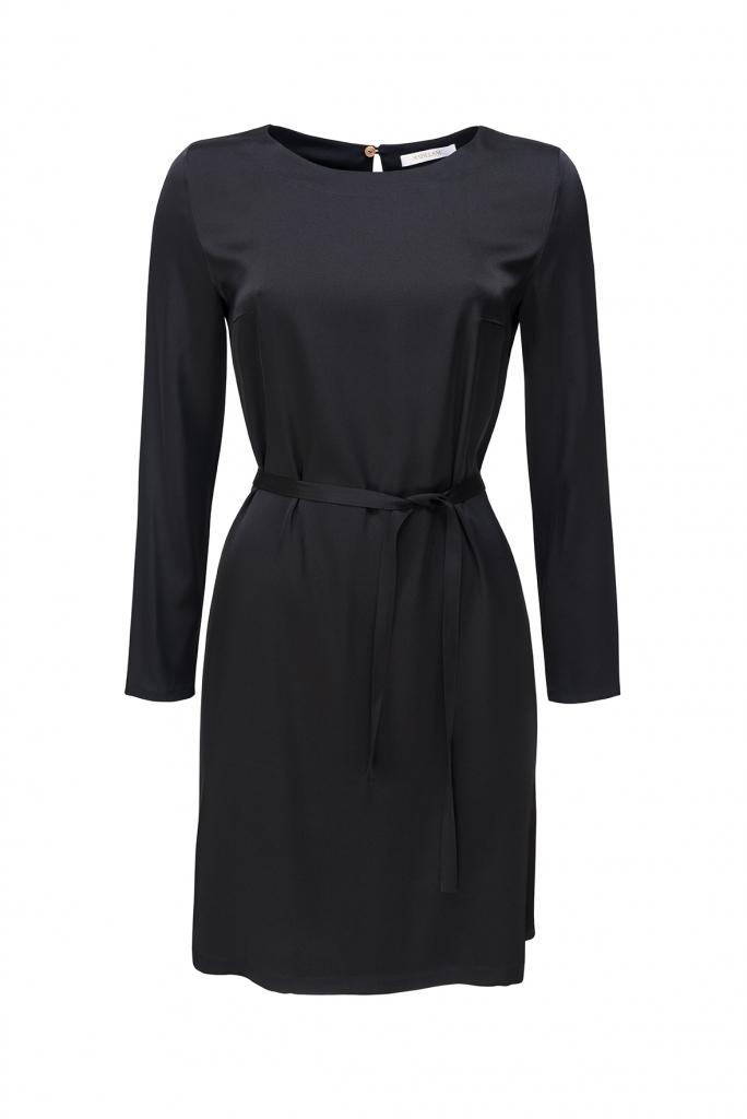 JACQUELINE silk double georgette dress